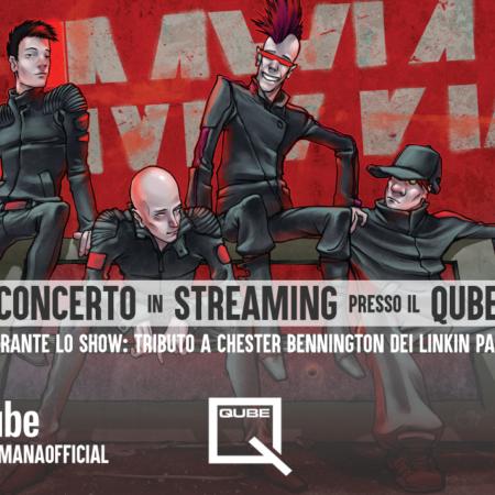Humana, per la band italiana un concerto in streaming dalla doppia anima
