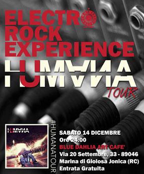 """Gioiosa, sabato 14 dicembre gli """"Humana"""" in concerto al Blue Dahila"""